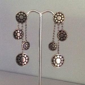 John Hardy Sterling Dot Earrings